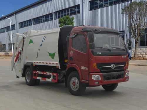 东风多利卡8方亚博 app垃圾车